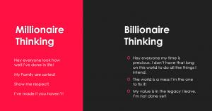 millionaire vs billionaire