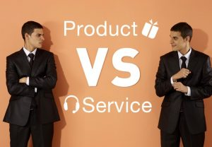 product vs service