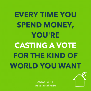 spending money is like casting a vote