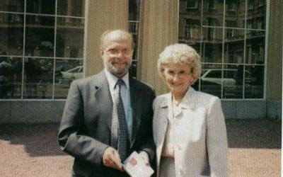 RIP Eric Andrews MBE20/06/1930 – 03/06/2020 My Amazing Grandad