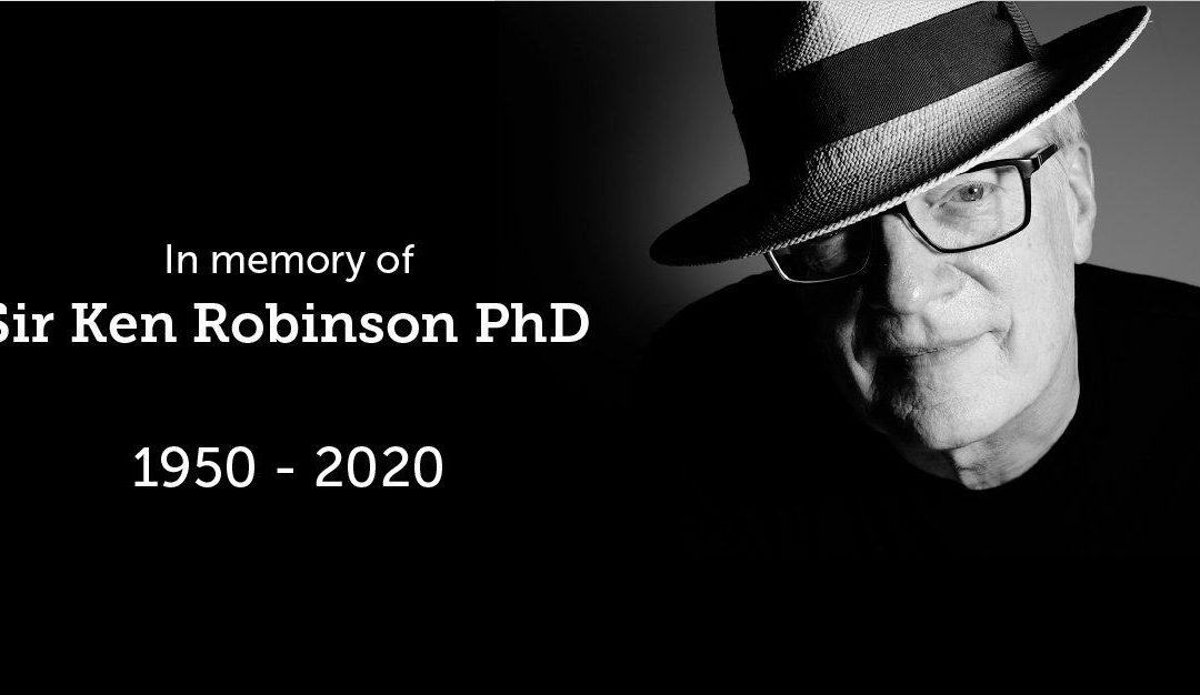 Death of Sir Ken Robinson